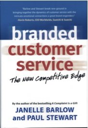 Branded Customer Service book, page 2 & 4